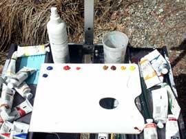 pintura em Yosemite, tutorial acrílico, arte, paisagem