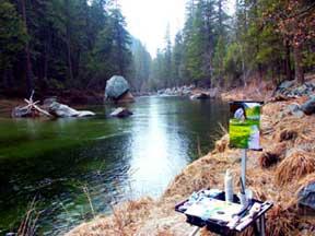 Yosemite foto, lição de acrílico