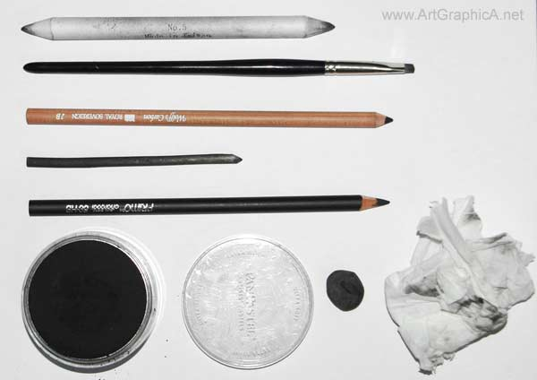 materials for drawing