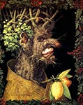 earth by Giuseppe Arcimboldo