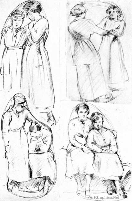 figure sketches, art student free books