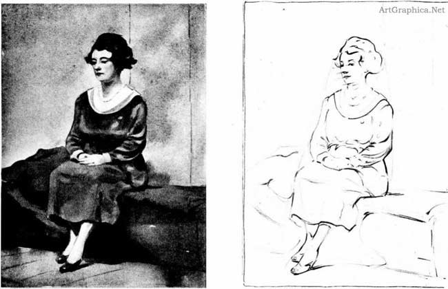 woman sketch, illustrator handbook, art guide online, art students