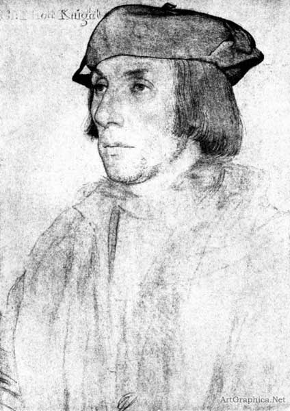 portrait study by holbein, free books for students