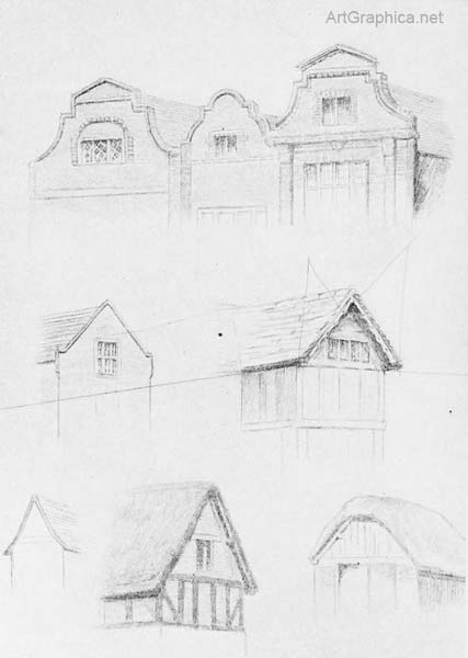gables, perspective lesson