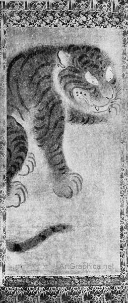 japanese tiger, japanese perspective in art