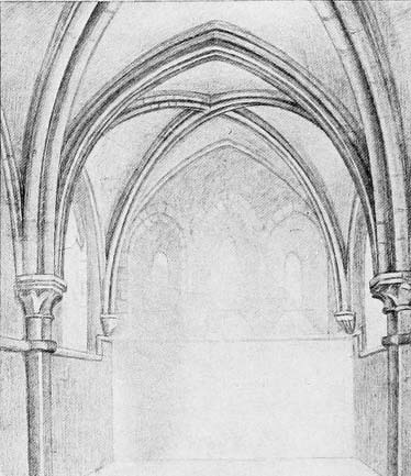 spandrels, cathedral architecture, arches