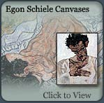 egon schiele art prints, art canvas