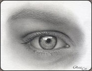 drawing eyes, the female eye, art tutorial