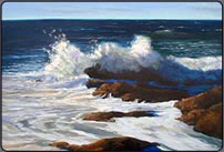 ocean, oil painting tutorial