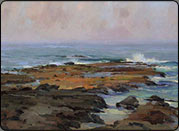 plein air, ocean painting, oils