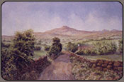 irish hills, painting lesson online