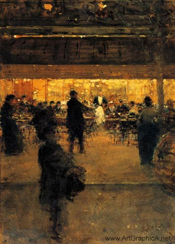 night cafe, luigi loir