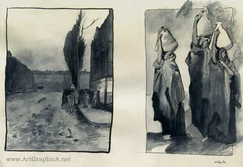Childe Hassam, John Singer Sargent