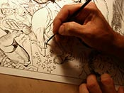 pen and ink lesson, mad comic, tom richmond, art