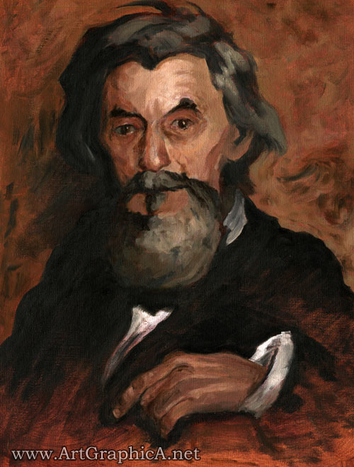 thomas eakins oil painting portrait