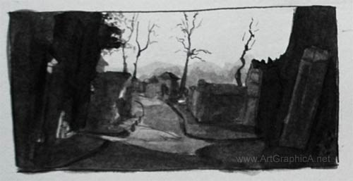 thumbnail value sketch