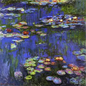 claude monet, color theory