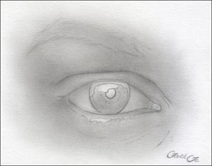 eye drawing tutorail