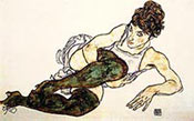 Adele Harms by Egon Schiele