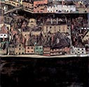 Small Town by Egon Schiele