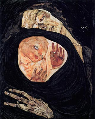 Dead Mother, 1910 by Egon Schiele</div>