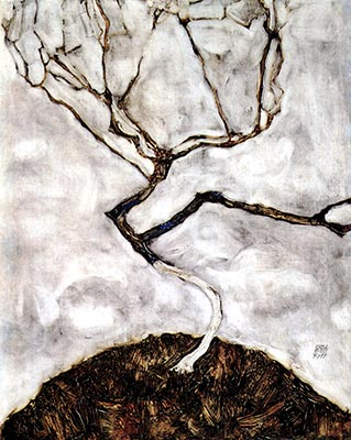 Late Autumn Tree, 1911 by Egon Schiele</div>