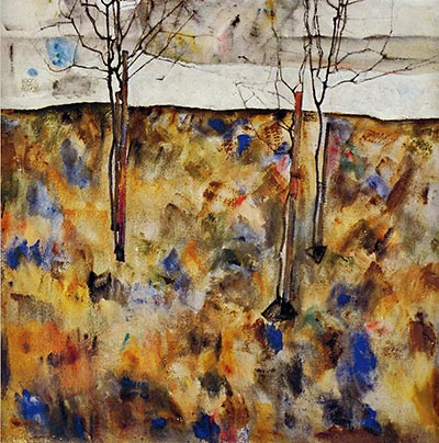 Winter Trees, 1912 by Egon Schiele</div>