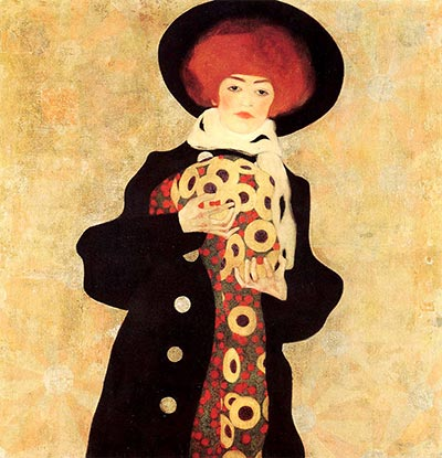 Woman with Black Hat, 1909 by Egon Schiele</div>