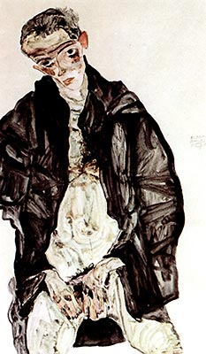 Masturbation by Egon Schiele</div>