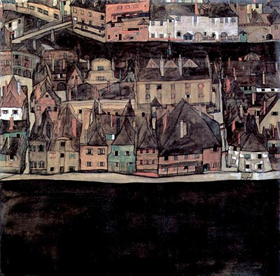Small Town by Egon Schiele</div>