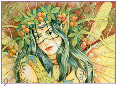 free art lesson, fairy art, watercolor lesson