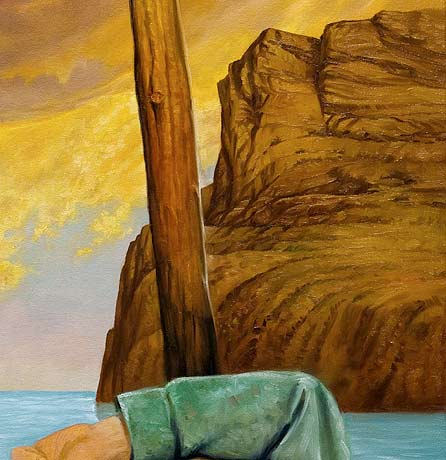 rendering rocks, painting boat mast, fantasy art demo, nude and fantasy, free oil painting demonstration