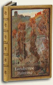 landscape painting, art book