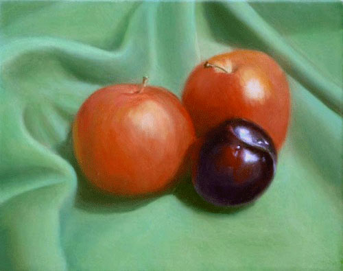 learn to glaze, oil painting glazes