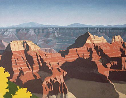grand canyon, butte