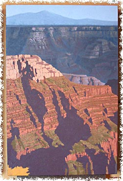art demonstration, the grand canyon