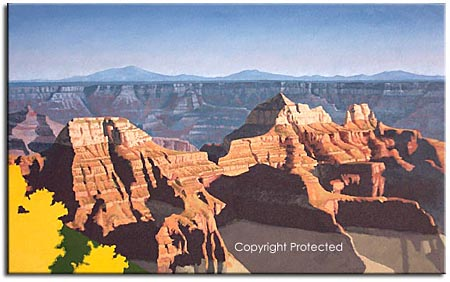 supai group formation, grand canyon art