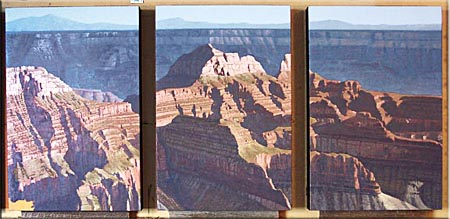oil painting lesson - the grand canyon