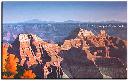 arizona, grand canyon painting
