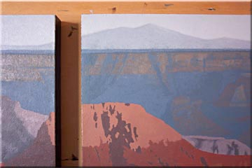 grand canyon painting demo