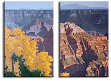 grand canyon painting lesson