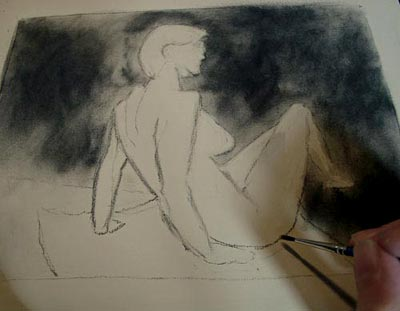 Figure sketching, drawing, draw people