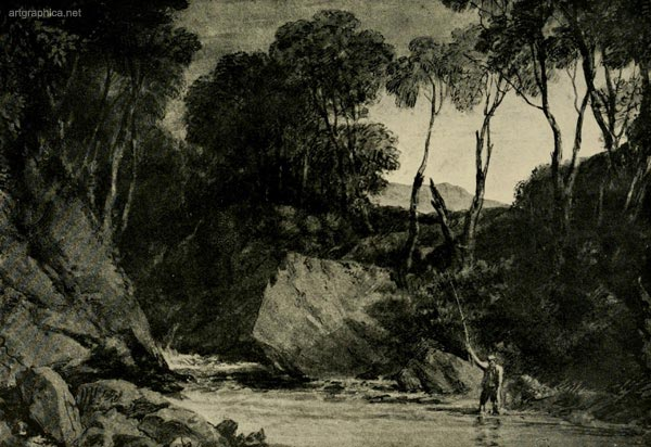 blair anthol, jmw turner, drawing trees