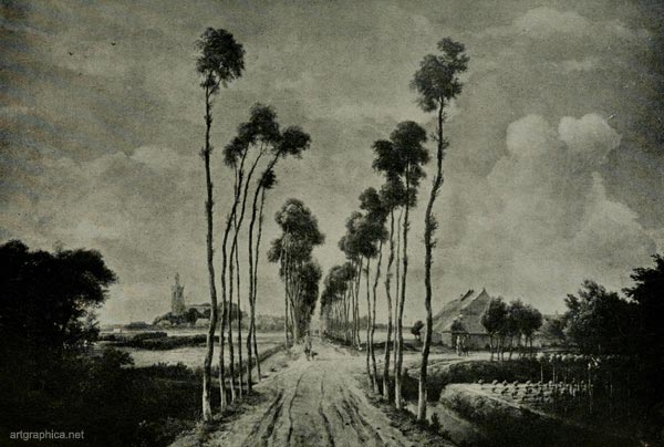 the avenue, midelharnis, hobbema