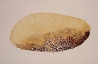rochas pintura, molhadas em lavagem, molhado, tutorial aquarela