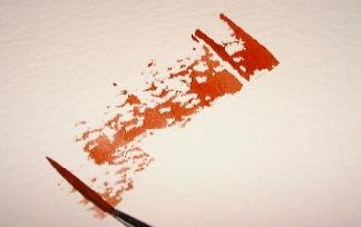 esfumar técnica, aquarela, pintura rupestre