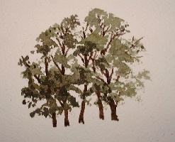 tree painting tutorial
