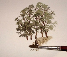 learn to paint trees