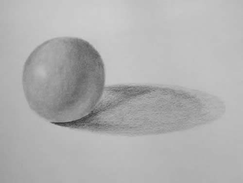 How to Shade a Sphere in Pencil