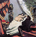 the impressionists, paul cezanne art, A Modern Olympia